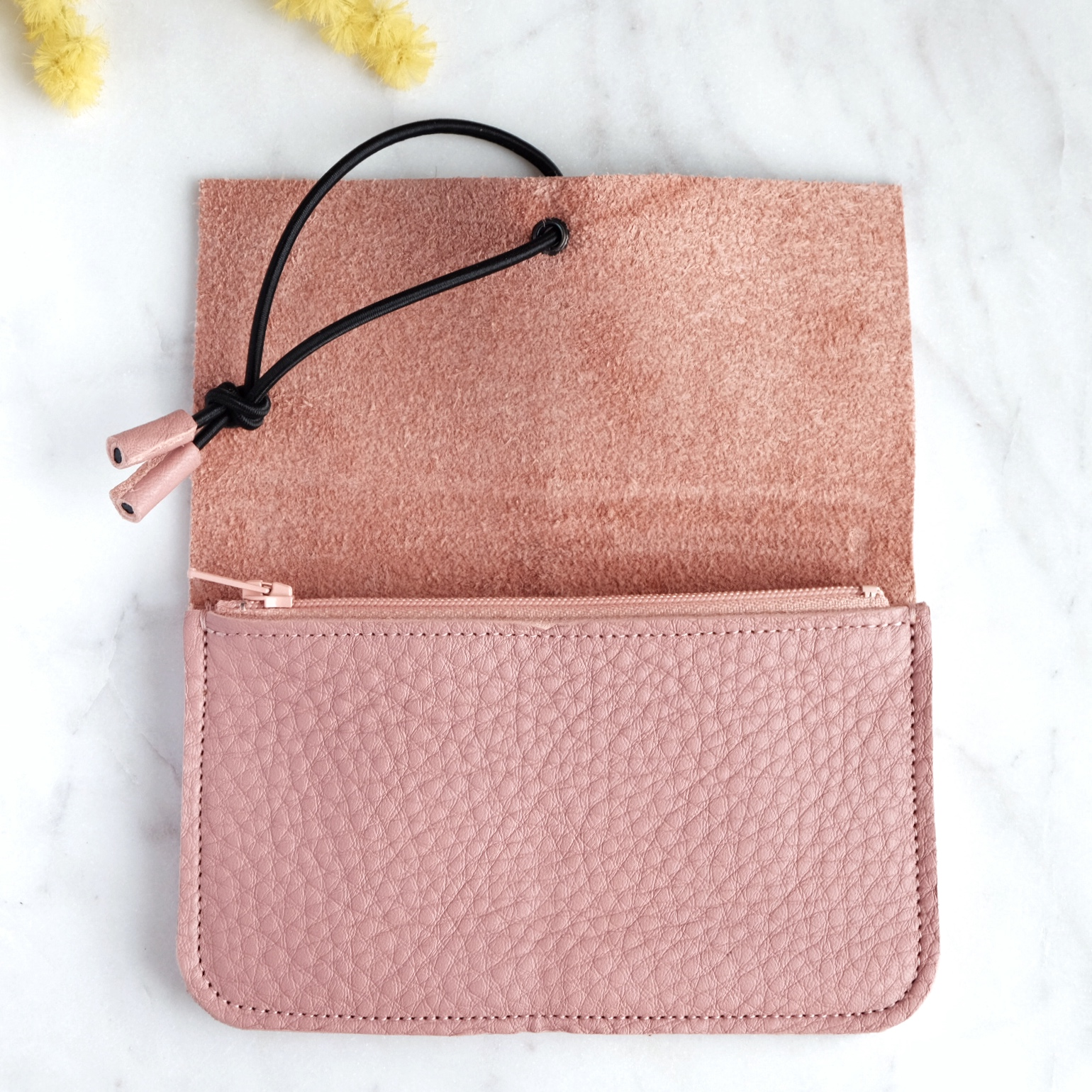 MONEDERO MEDIANO DUSTY PINK 2 MISHA BARCELONA