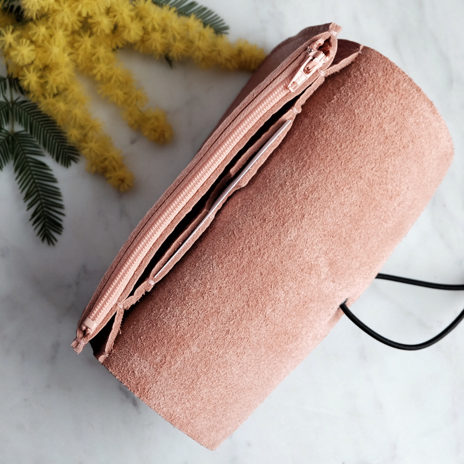 MONEDERO MEDIANO DUSTY PINK 4 MISHA BARCELONA